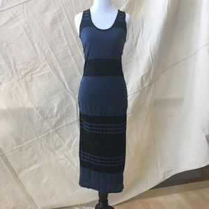 James Perse. Racerback. Size 1. Black and blue